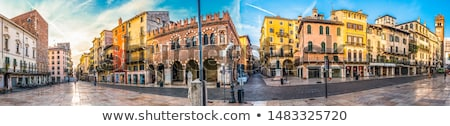 Verona Old Town - Italy Stock photo © fazon1