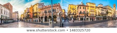 表示 · 川 · ヴェローナ · イタリア · セントラル · 水 - ストックフォト © fazon1