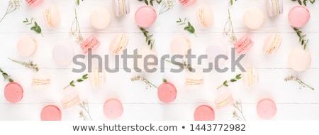 Macaron красочный французский Cookies различный Сток-фото © sahua