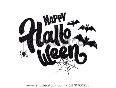 Feliz halloween modelo artístico projeto arte Foto stock © indiwarm