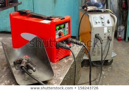 red welding apparatus Stock photo © prill