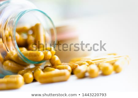 Drug capsules Stock photo © timbrk