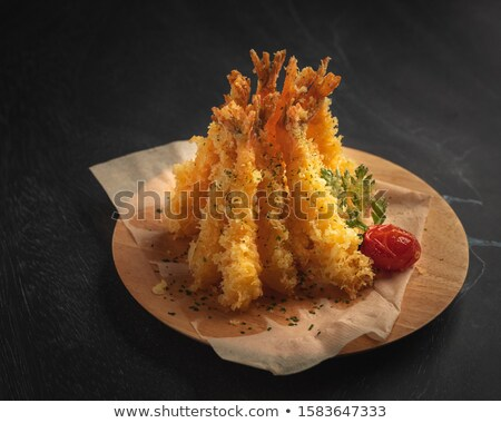 fritter shrimp Stock photo © M-studio