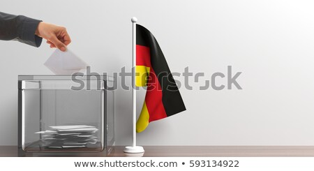 vote poll ballot box for germany / germany elections Stock photo © experimental