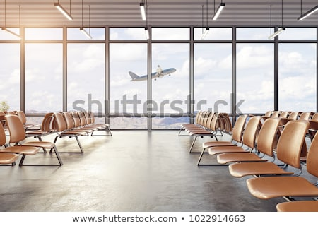 Airport Terminal Seating Stock photo © cmcderm1