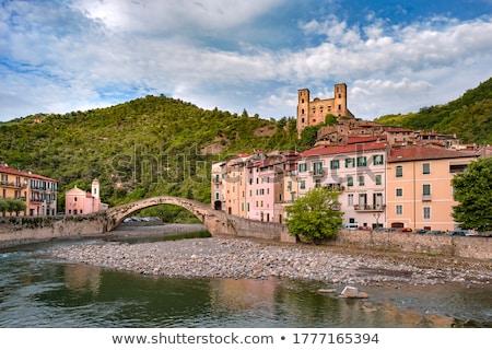 Сток-фото: Dolceacqua Medieval Castle