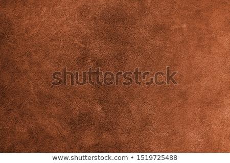 Orange leather texture  Stock photo © homydesign