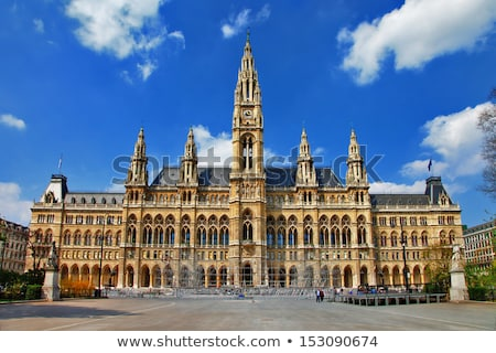 rathaus city hall in vienna austria stock photo © andreykr