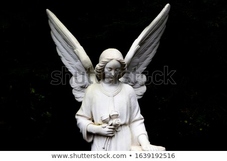 Religious Statue in a Tomb Stock photo © jkraft5