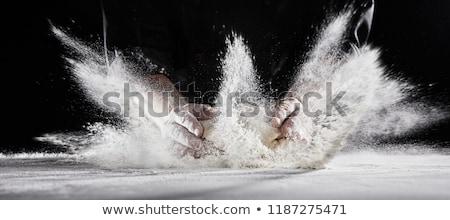 Повара · рук · покрытый · женщину · кухне · ресторан - Сток-фото © wavebreak_media