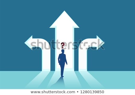 Choices and strategies symbol Stock photo © Lightsource