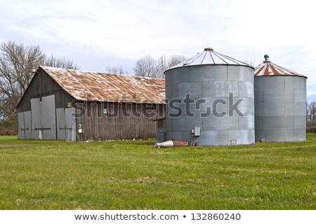 Old abandoned shed and storages Oregon. stock photo © Rigucci