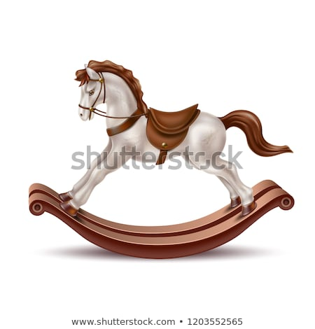 Baby Rocking Horse Stock photo © mintymilk