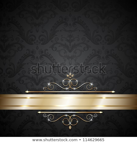 Retro background with design elements. eps10 Stock photo © Larser