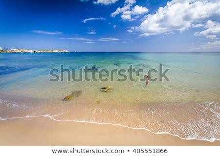 Plaj Portekiz manzaralı okyanus seyahat Stok fotoğraf © gvictoria
