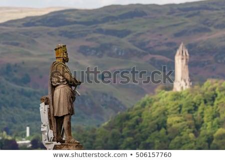 Robert the Bruce statue in Stirling, Scotland Stock photo © TanArt