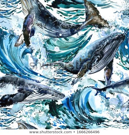 tsunami · dalga · dev · okyanus · su · doğa - stok fotoğraf © creative_stock