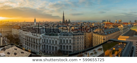 vienna skyline stock photo © compuinfoto