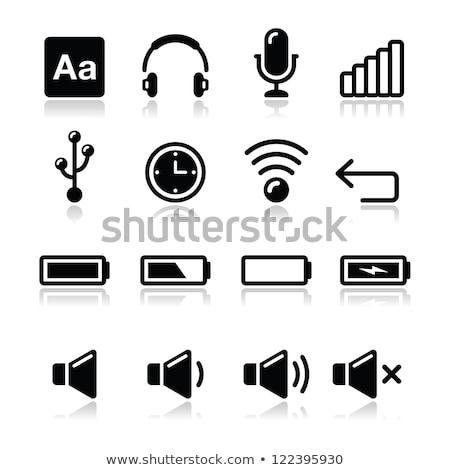 Vektör ikon elektronik dil sözlük Stok fotoğraf © zzve