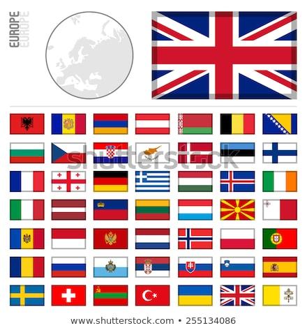 Miniature Flag of Andorra Stock photo © bosphorus