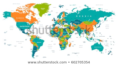 Green Southern Asia Stock photo © Volina