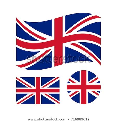 набор Кнопки Великобритания красочный Сток-фото © flogel