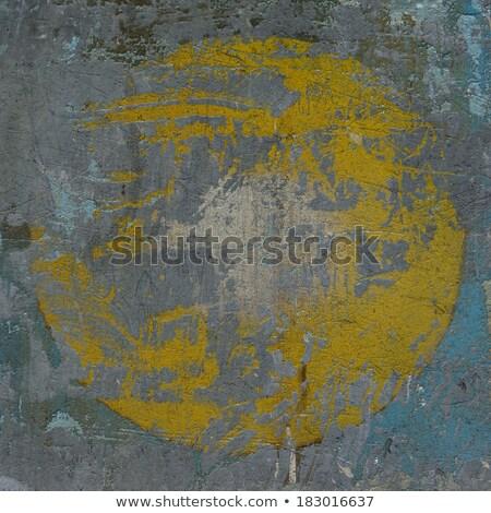3D niebieski szary grunge ściany ukryty Zdjęcia stock © Melvin07