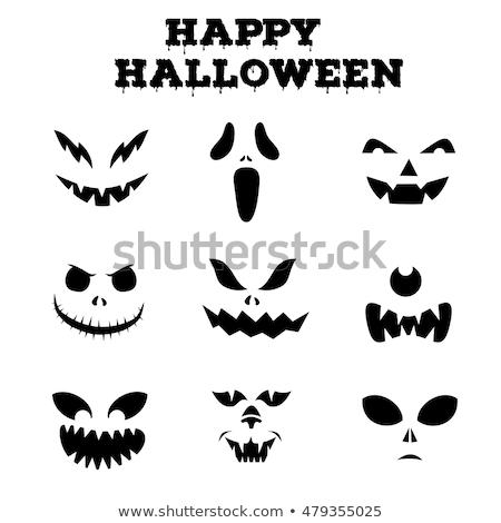 demon pumpkin sign stock photo © lightsource