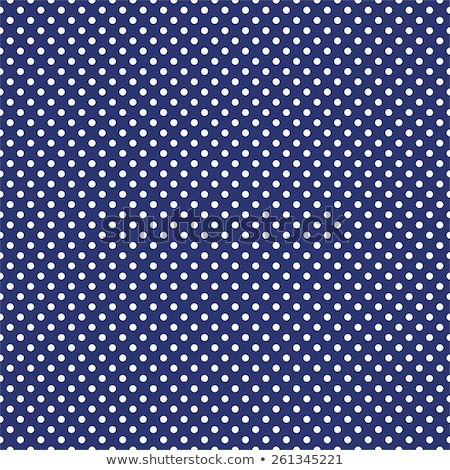 blue fabric with dark polka dots stock photo © zerbor