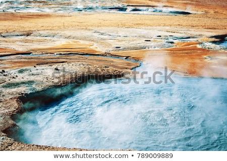 Geothermal field Stock photo © alexeys