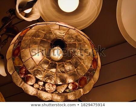 Lüks altın duvar avize soyut Stok fotoğraf © art9858