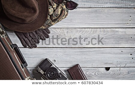 outdated wooden surface stock photo © nikolaydonetsk