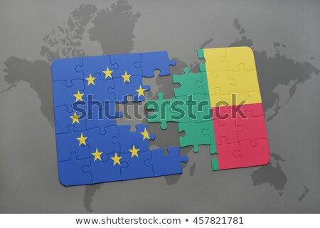European Union and Benin Flags in puzzle Stock photo © Istanbul2009