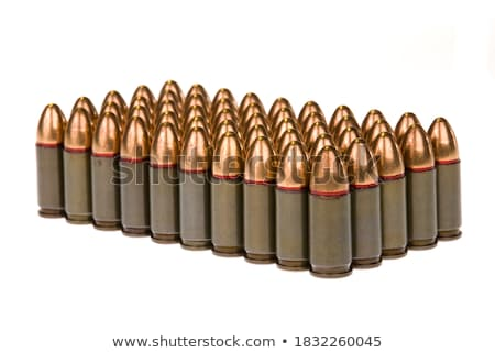 Isolated .45 caliber bullet on white  Stock photo © njnightsky