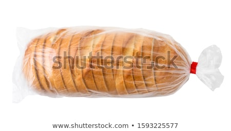 Pain emballage société alimentaire industrie blanche Photo stock © tujuh17belas