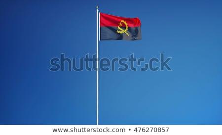 共和国 · アンゴラ · アフリカ · マップ · プラス · 余分な - ストックフォト © istanbul2009