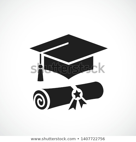 Mortarboard. Stock photo © Sonya_illustrations