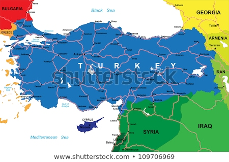 Map of Turkey, Hatay  Stock photo © Istanbul2009