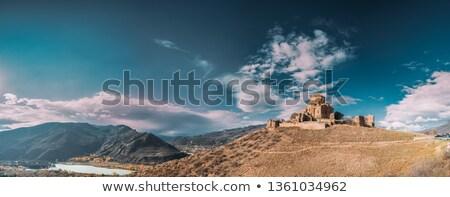 Panoramic view of Mtskheta. Georgia. Stock photo © master1305