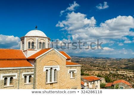 Church of Ayia Marinas at Dora Village. Limassol District, Cyprus Stock photo © Kirill_M
