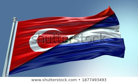 Turkey and El Salvador Flags Stock photo © Istanbul2009