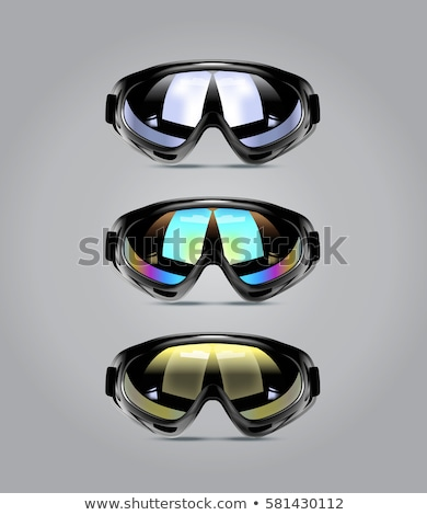 Winter sport glasses isolated Stock photo © shutswis