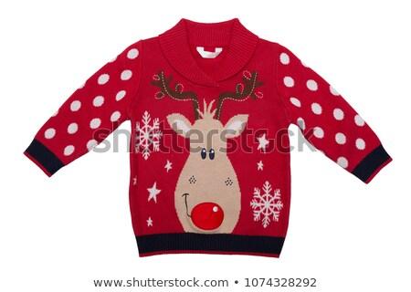 red sweater isolated Stock photo © shutswis