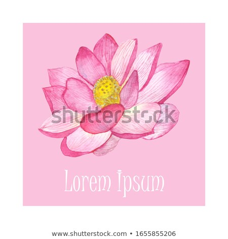 abstract artistic pink om text stock photo © pathakdesigner