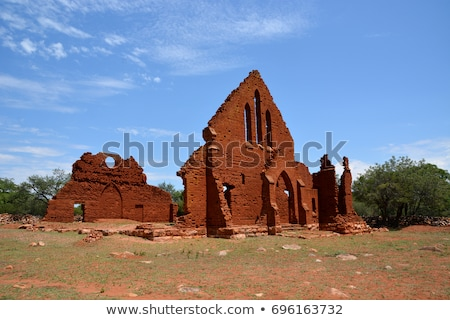 Stock photo: Old Palapye Church Botswana