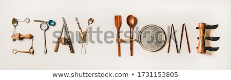 Website word on plate Stock photo © fuzzbones0