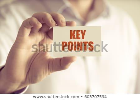 key with message success stock photo © fuzzbones0