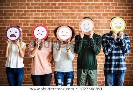 different emotions stock photo © bluering