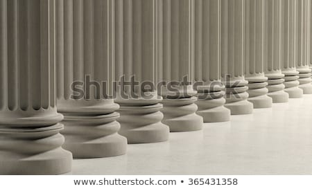 Row of pillars Stock photo © zurijeta