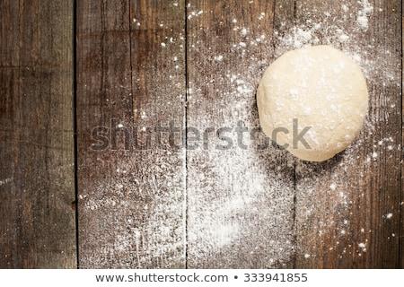 pizza · cuoco · orizzontale · nutrizione · legno · greggio - foto d'archivio © Karpenkovdenis